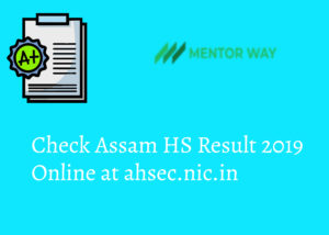 assam HS result
