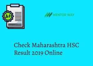 Check Maharashtra HSC Result 2019 Online