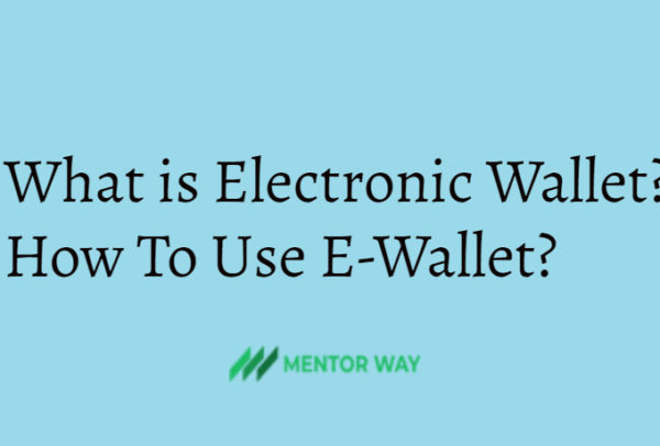 What is Electronic Wallet? How To Use E-Wallet?