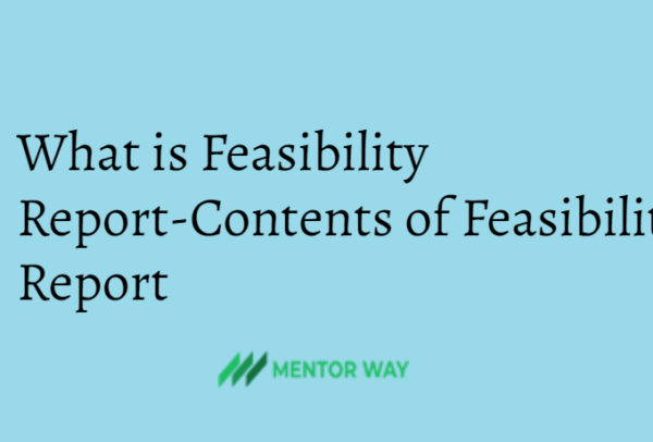 What is Feasibility Report-Contents of Feasibility Report