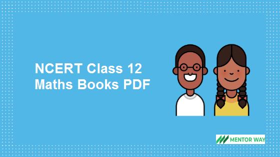 NCERT Class 12 Maths Books