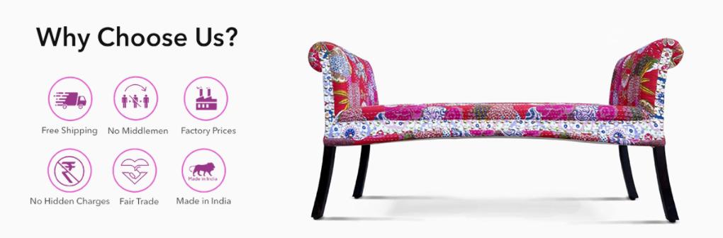 Buy Wooden Sofa Set Online